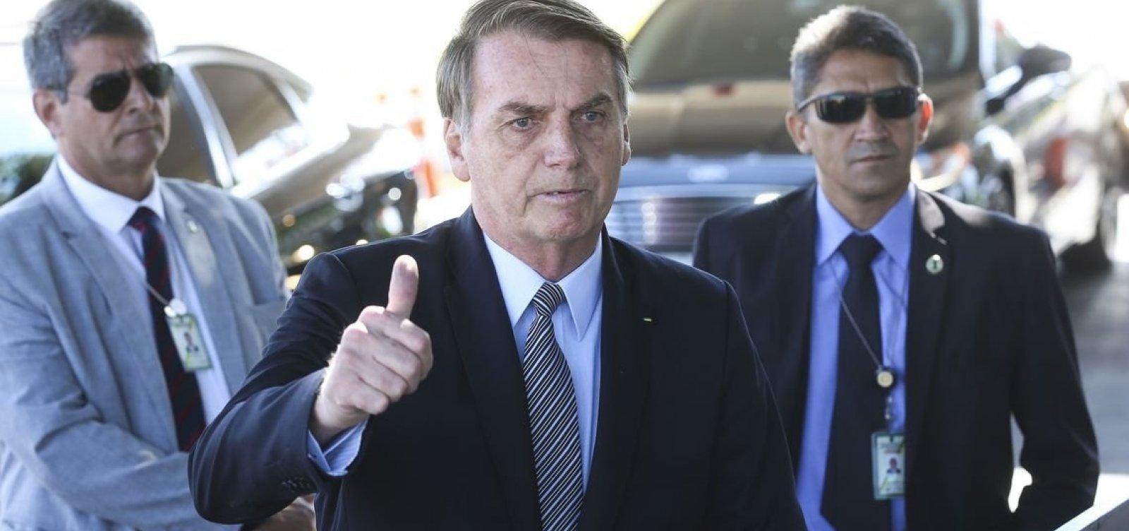Não quero tomar o PSL de ninguém, diz Bolsonaro sobre atritos com Bivar