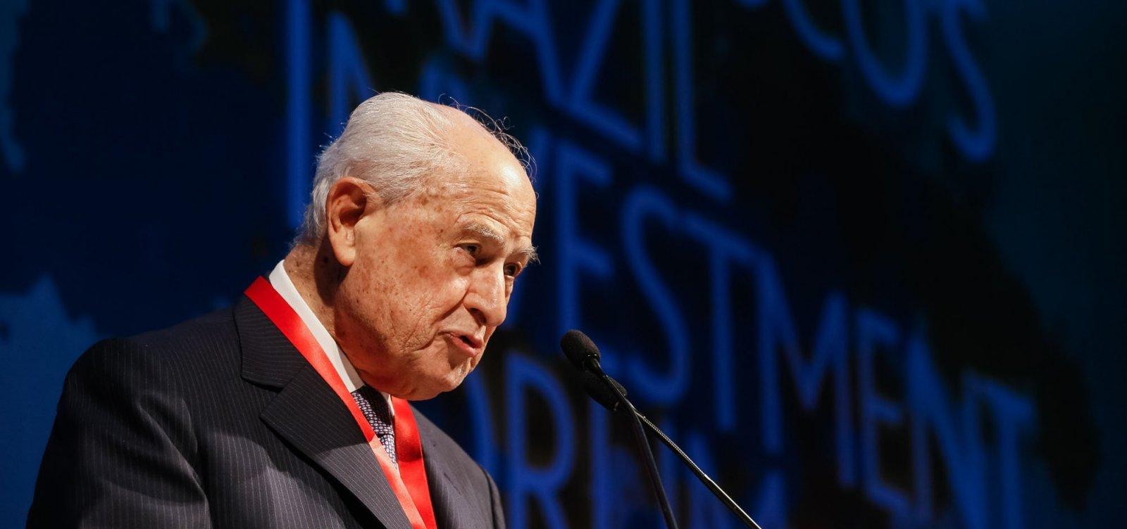 Morre Lázaro Brandão, ex-presidente do Bradesco