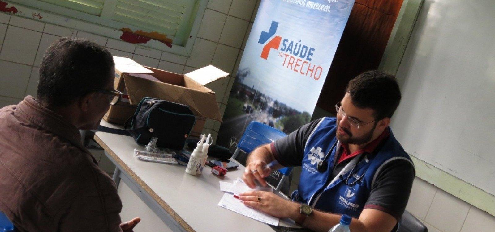 Projeto leva atendimento médico gratuito para cidades baianas na próxima semana