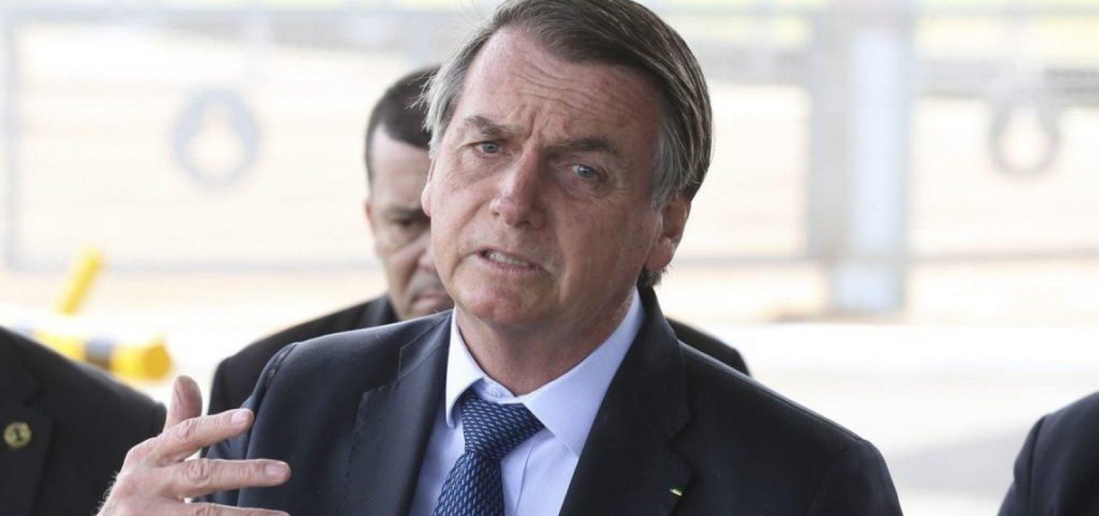 Bolsonaro se reúne com Gilmar Mendes no Palácio do Planalto