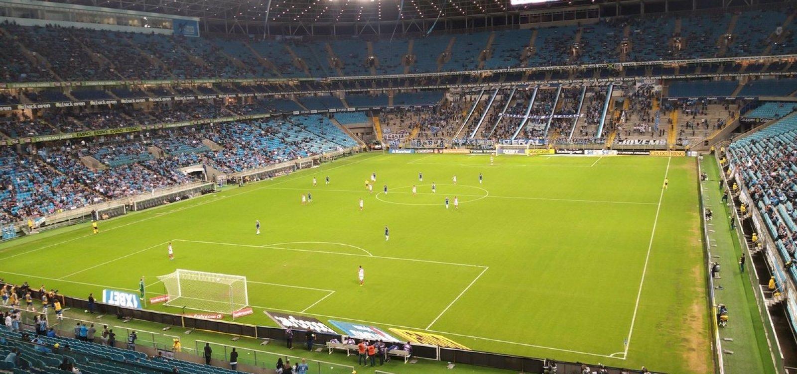 Com gol de pênalti, Bahia vence o Grêmio em Porto Alegre