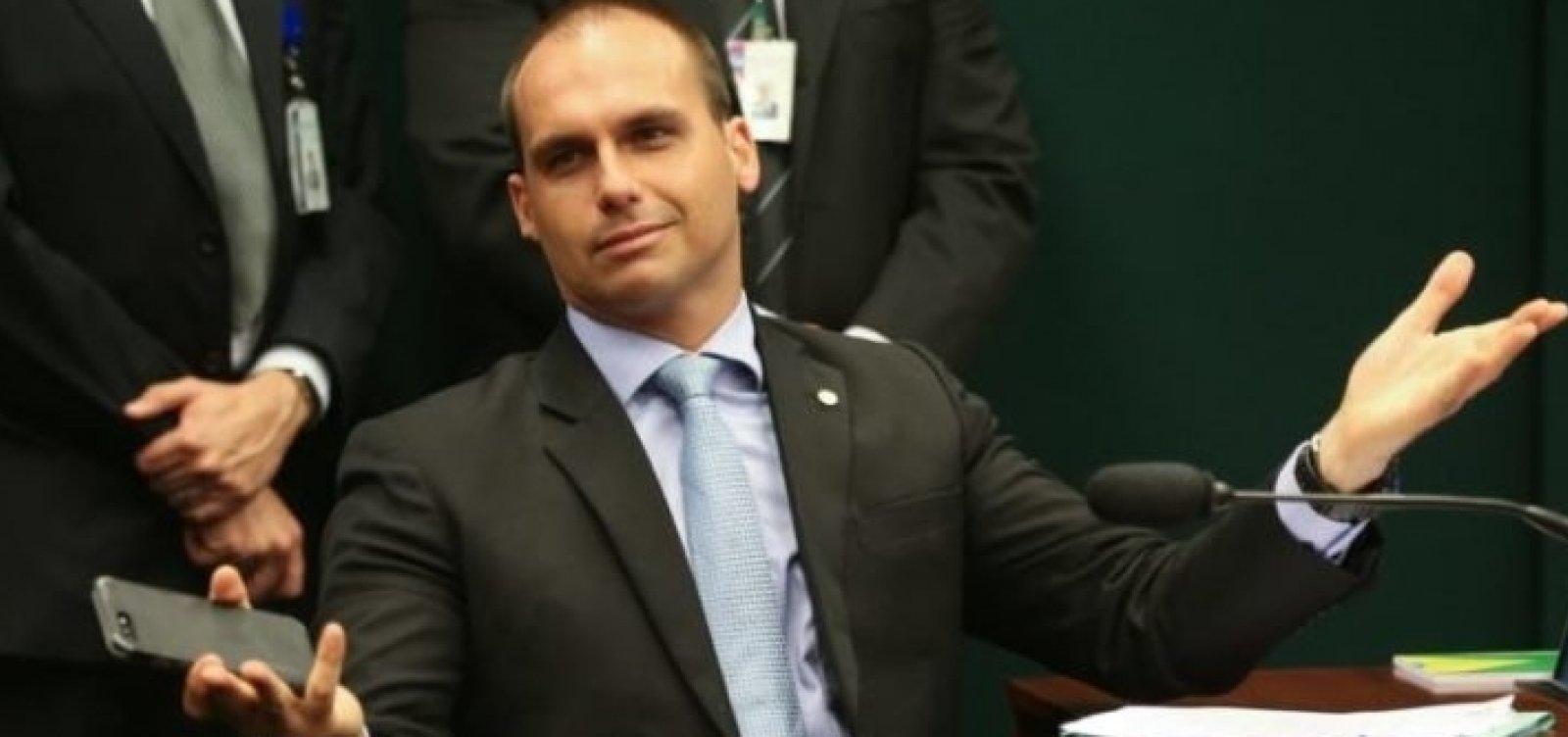 PSL tem disputa de listas após Bolsonaro agir para Eduardo ser líder na Câmara