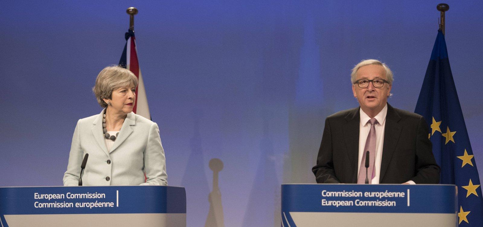 União Europeia e o Reino Unido chegam a acordo sobre Brexit