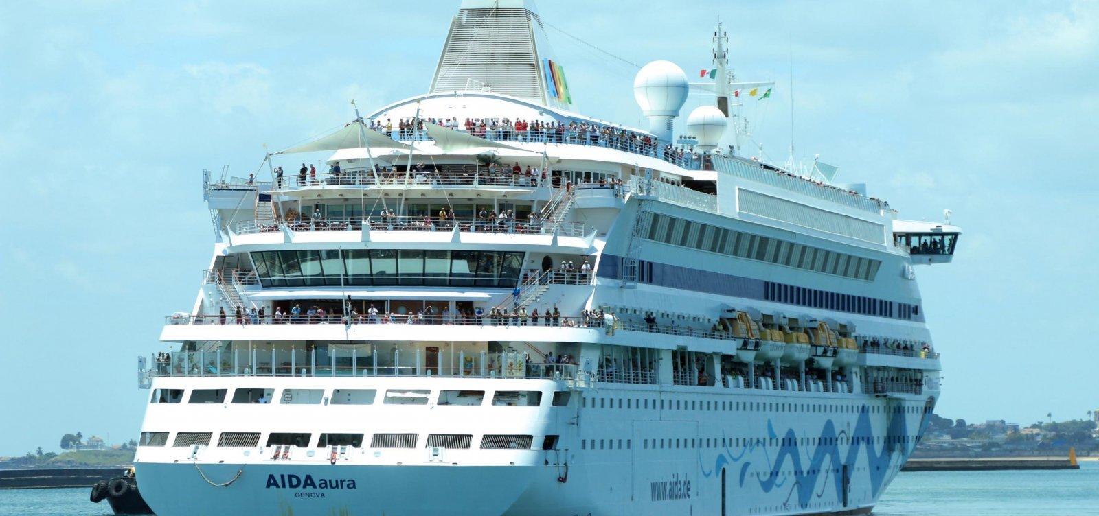 Temporada de cruzeiros em Salvador começa hoje; capital deve receber mais de 60 navios