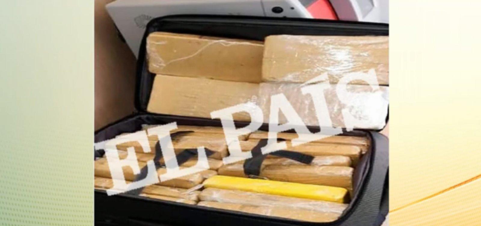 MP espanhol quer prisão de oito anos para militar detido com cocaína na comitiva presidencial