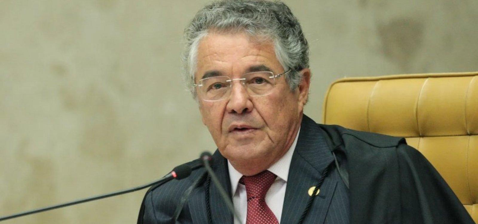 Marco Aurélio diz que 'ladainha' de colegas pode esticar julgamento sobre 2ª instância no STF