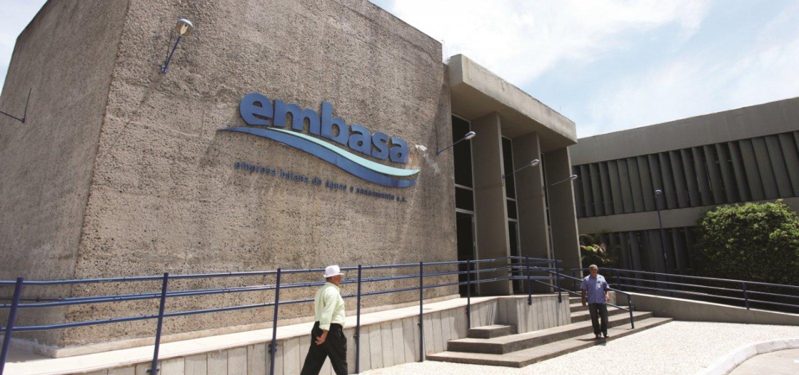 Embasa nega favorecimento de empresas em contratos