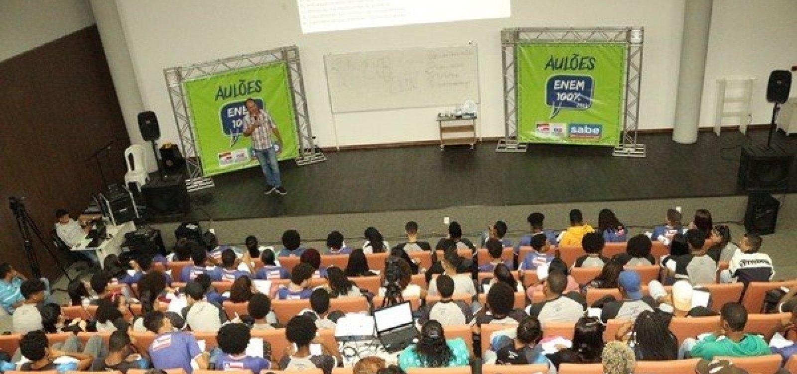 Universidade oferece aulas gratuitas de revisão para o Enem em Salvador