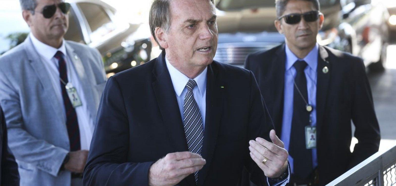 Gastos de Bolsonaro com cartão corporativo são os maiores desde 2014