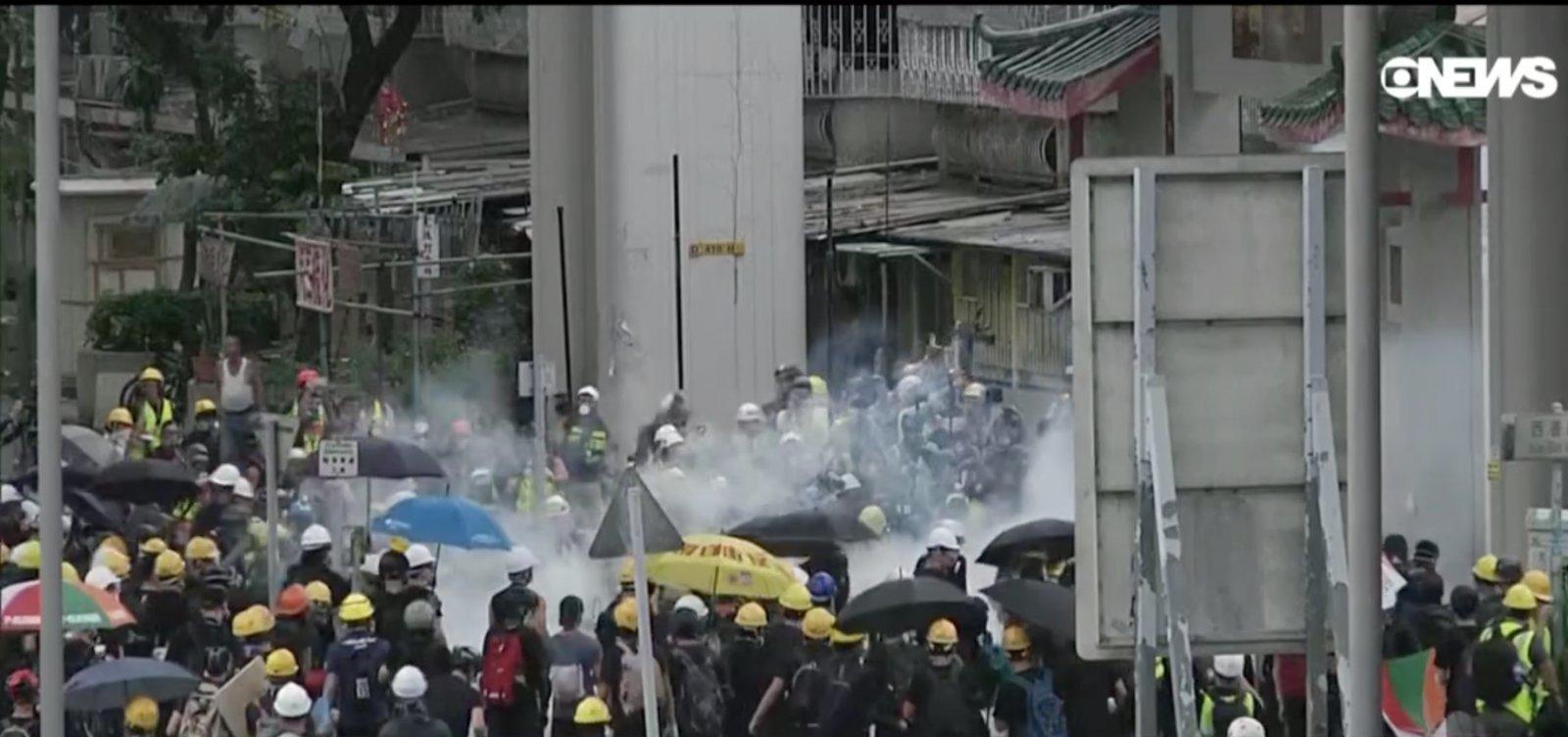 Ativista é esfaqueado em Hong Kong