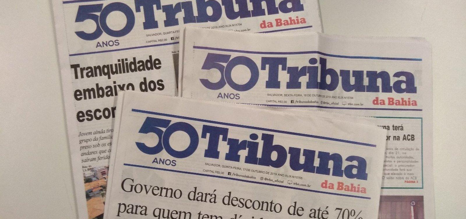 Tribuna da Bahia completa 50 anos de fundação