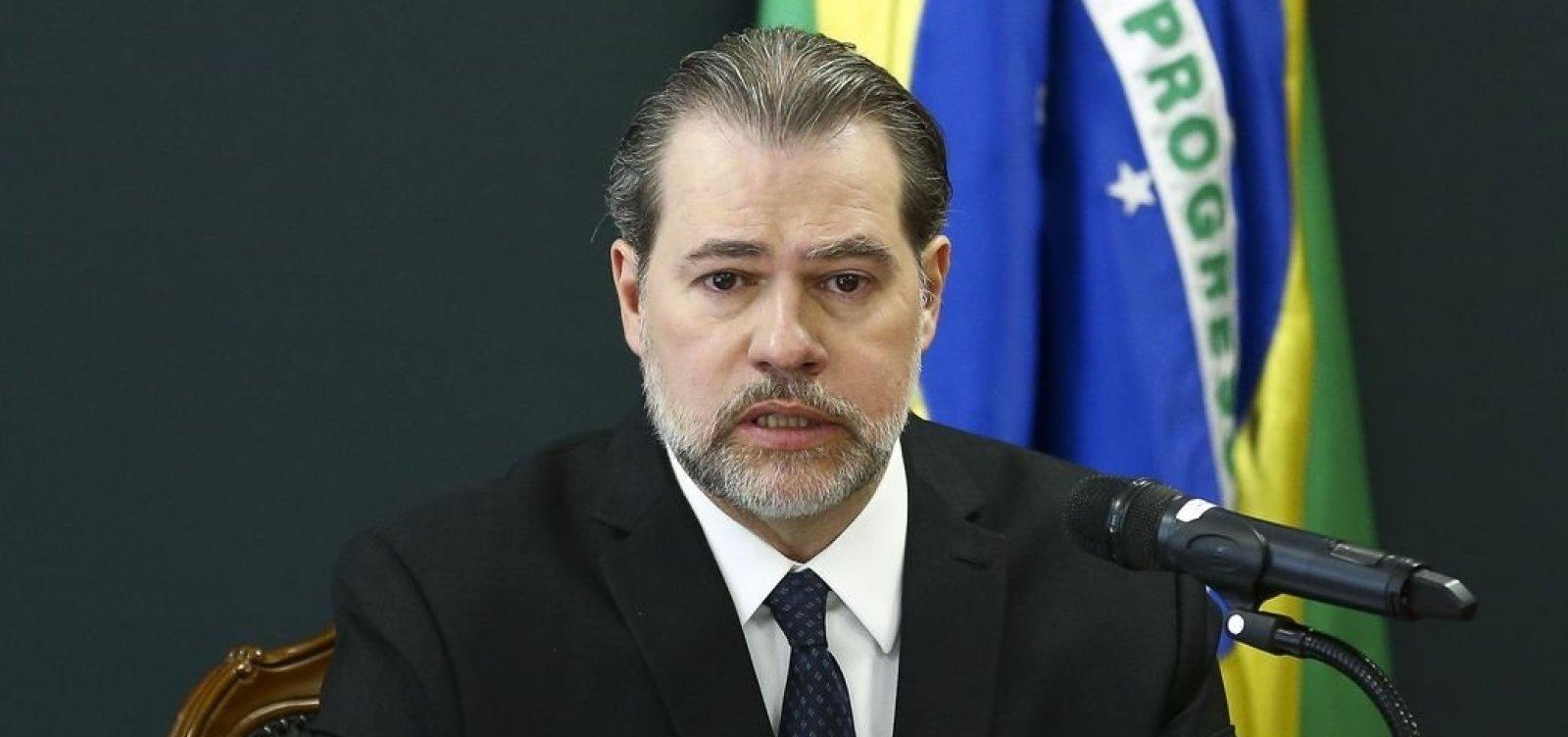 Advogado de Bolsonaro pede a Toffoli para anular suspensões a cinco deputados da ala bolsonarista do PSL