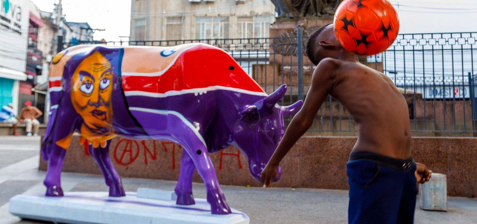 CowParade Brasil começa leilão virtual das obras em Salvador