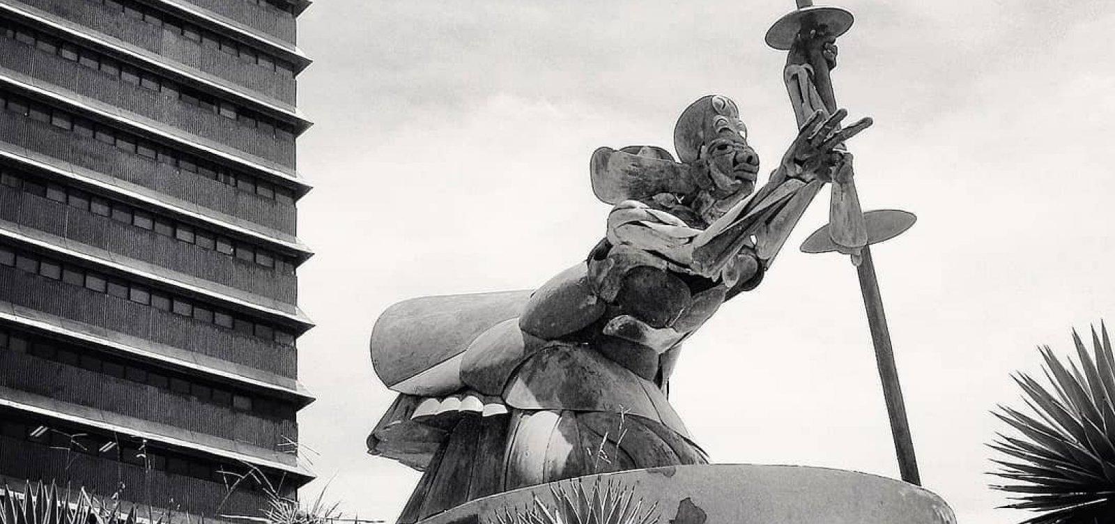 Oxalá de Mário Cravo Jr. é restaurado e volta a ser exposto