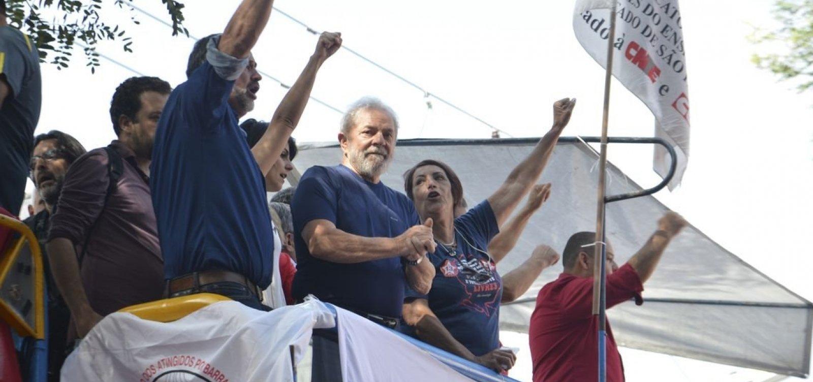 Juízes europeus enviam carta ao STF criticando prisão de Lula