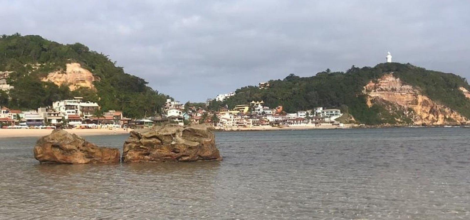 Praias de Morro de São Paulo e Boipeba não têm registro demanchas de óleo hoje