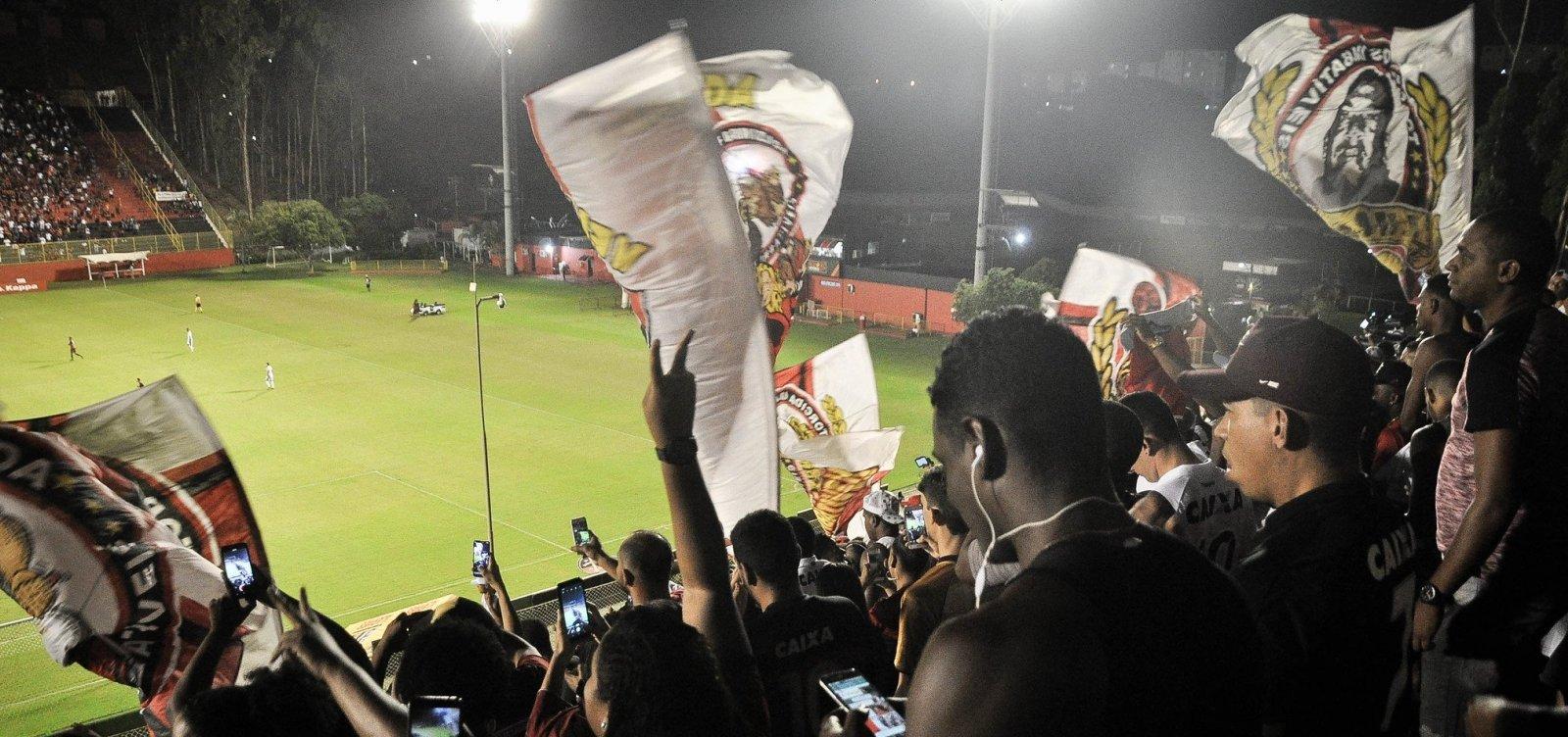 CBF altera tabela e Vitória jogará no Barradão até o fim da Série B