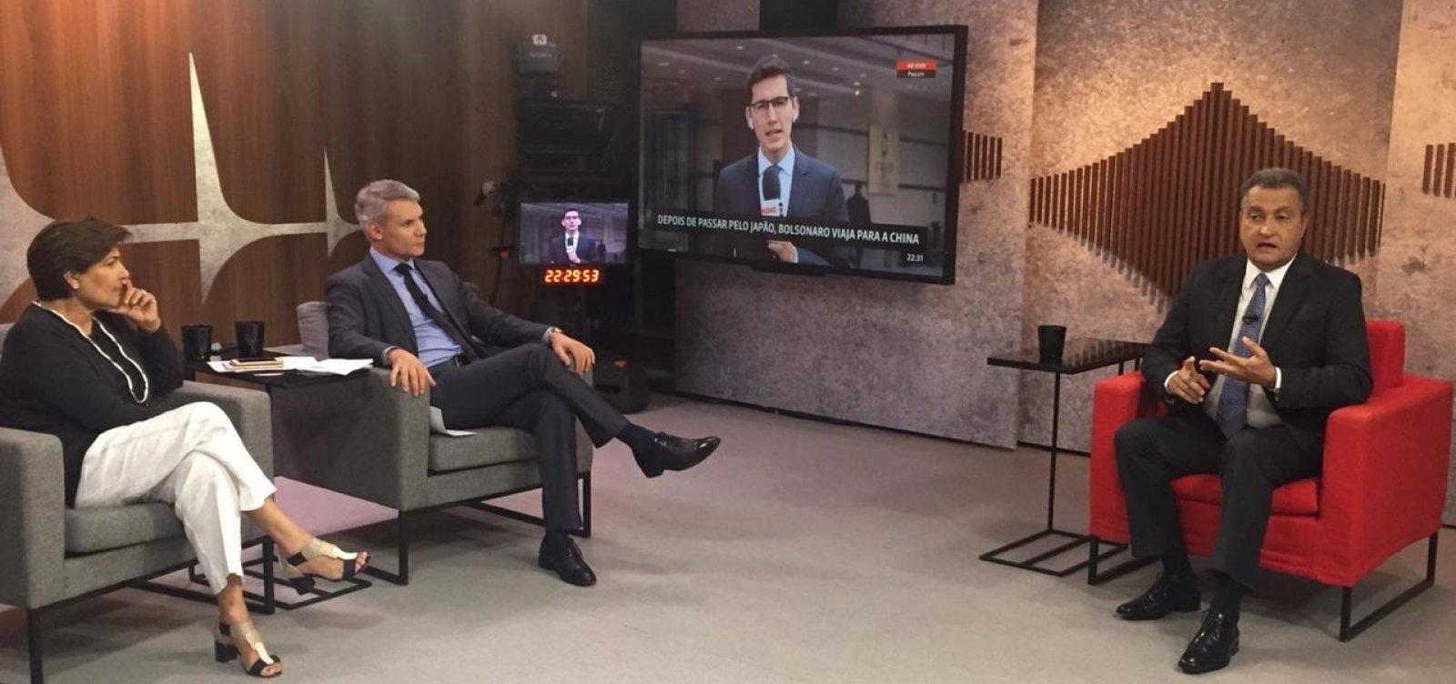 Rui culpa governo Bolsonaro por usar 'critérios políticos ideológicos' na falta de reação a óleo