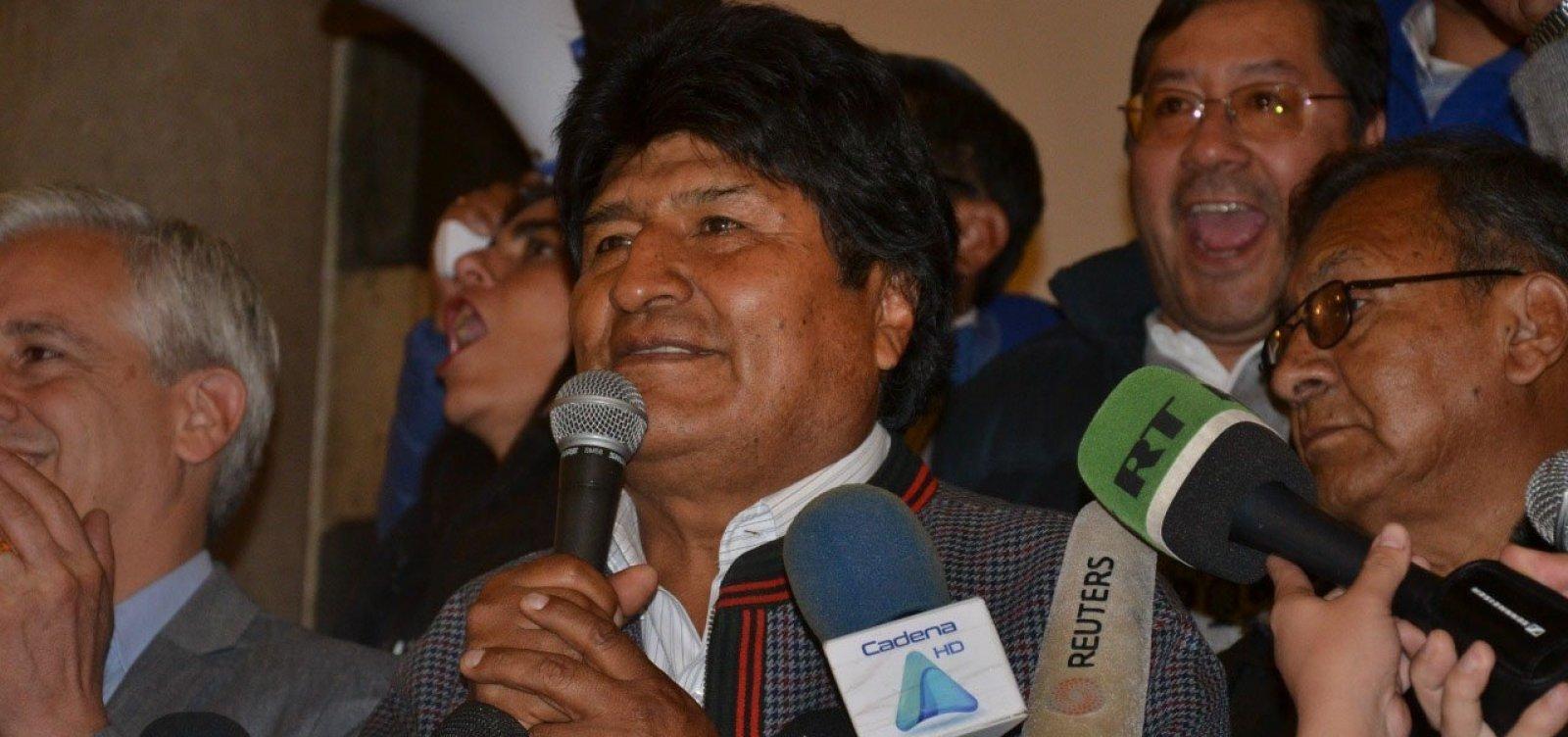 Morales afirma que tentativa de golpe está em marcha e declara estado de emergência