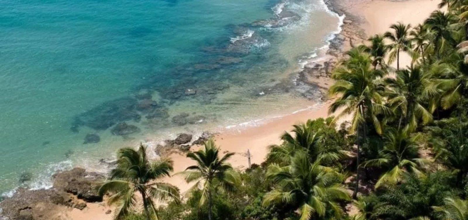 Praias da Península de Maraú estão limpas, diz prefeitura