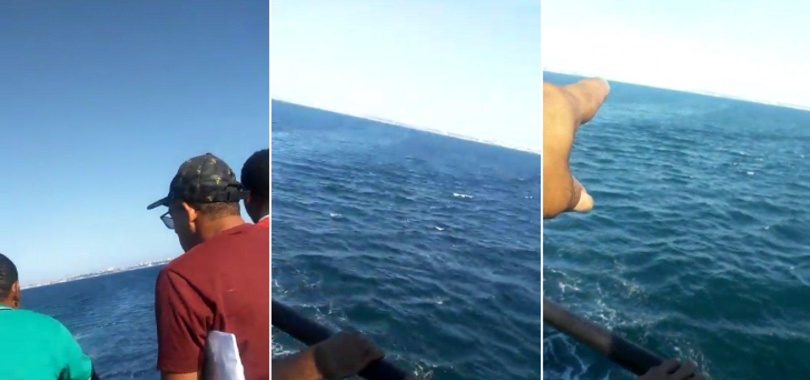 Mulher cai de ferry-boat durante travessia São Joaquim-Bom Despacho