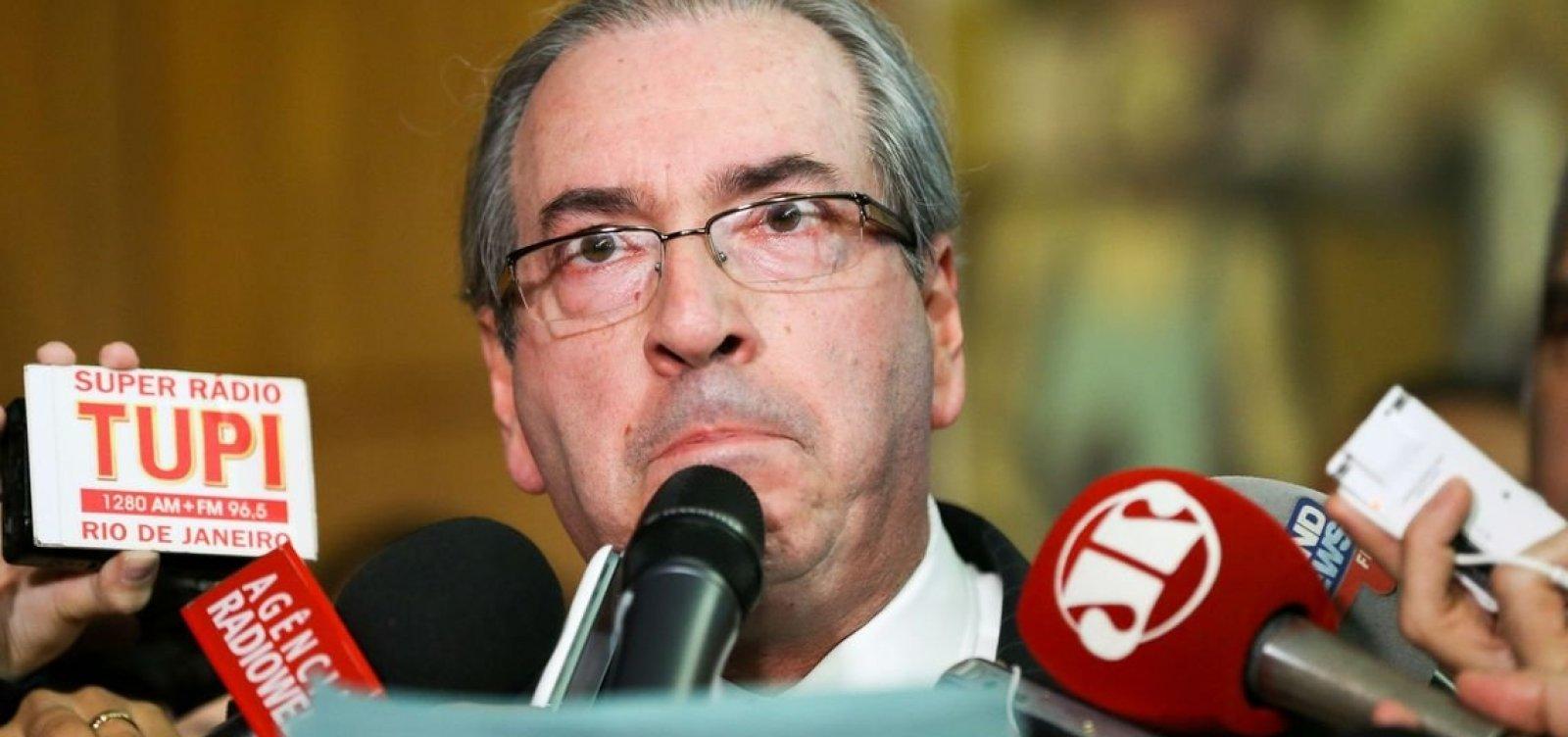 Cunha diz ter sido 'boi de piranha' da Lava Jato e critica tratamento dado a Temer