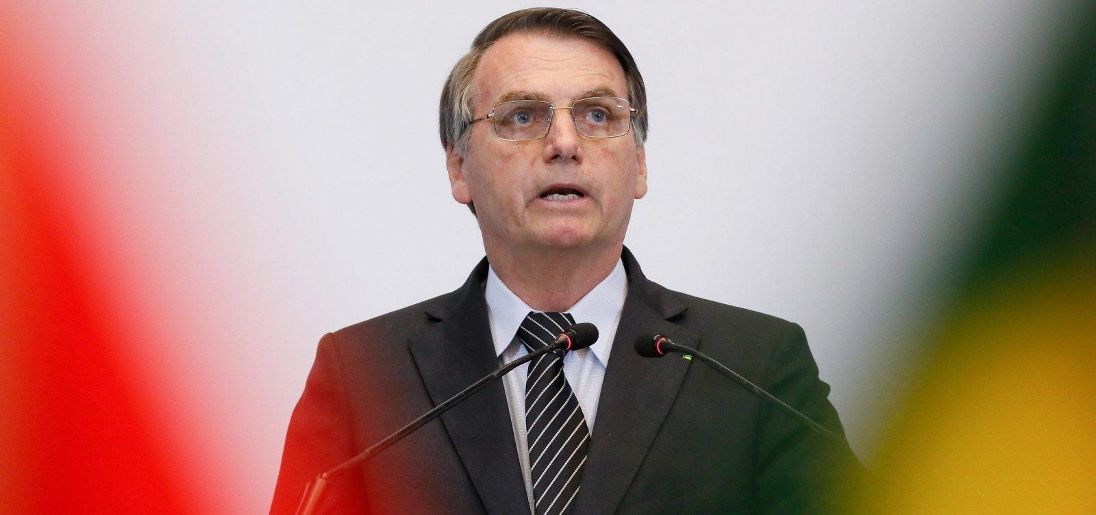 Bolsonaro diz que protestos no Chile são 'terrorismo'