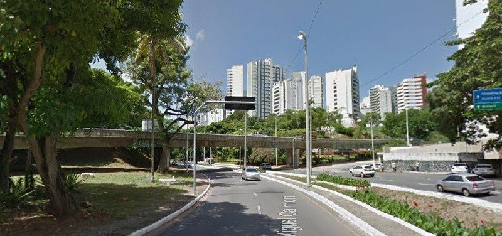 Viaduto do Vale do Canela que dá acesso à Graça só será liberado na terça