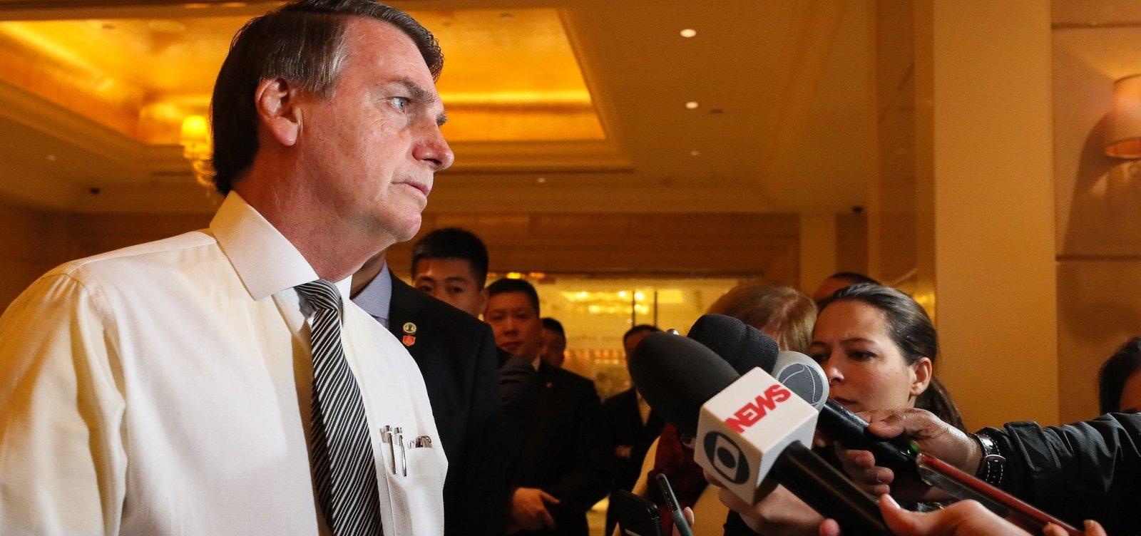 'Posso ser um presidente sem partido', diz Bolsonaro em meio à crise no PSL