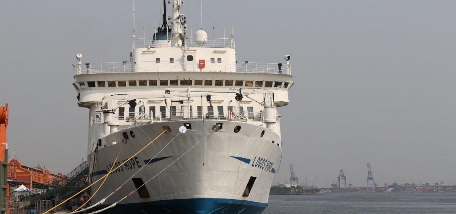 Organização de navio diz que mensagem sobre 'crença em demônios' em Salvador não teve aprovação oficial