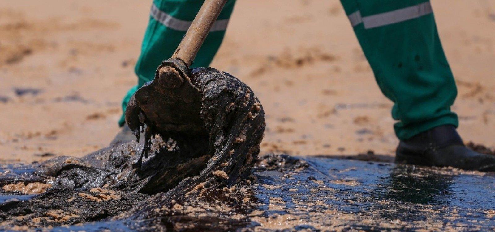 Manchas de óleo atingem mais quatro cidades baianas