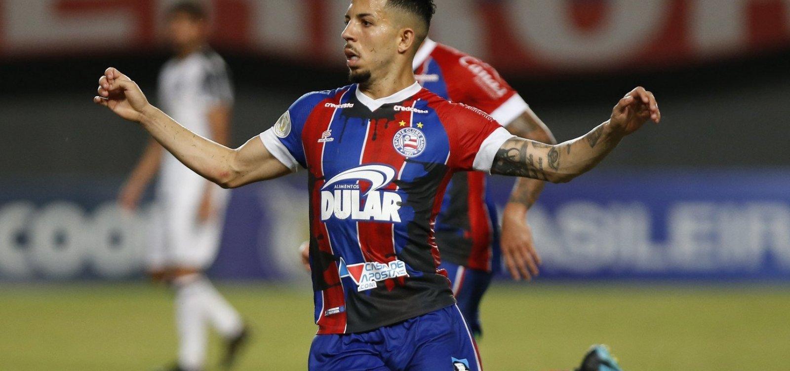 'Desatenção da equipe toda', avalia Flávio após derrota do Bahia para o Internacional