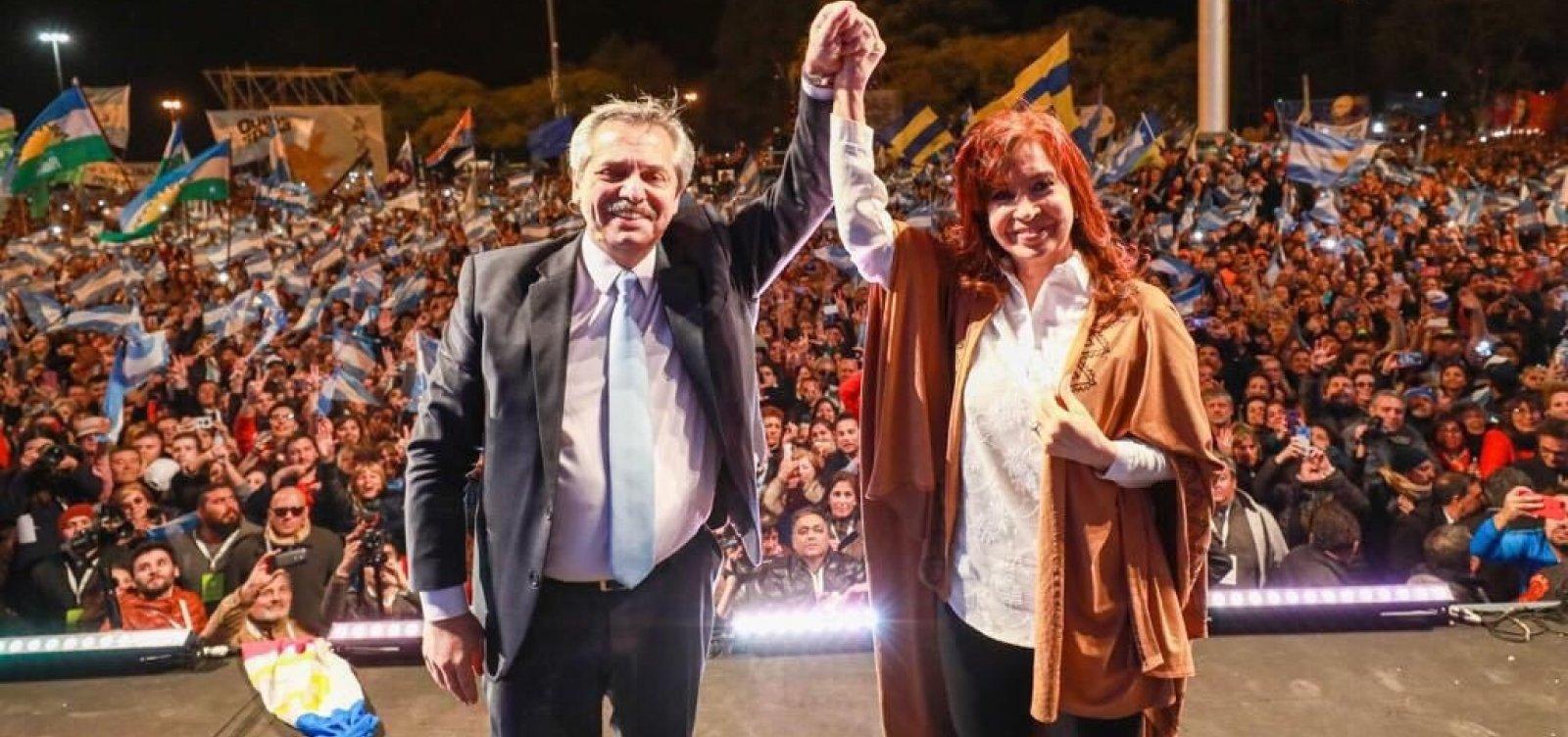 Alberto Fernández derrota Macri e é eleito presidente da Argentina em 1º turno