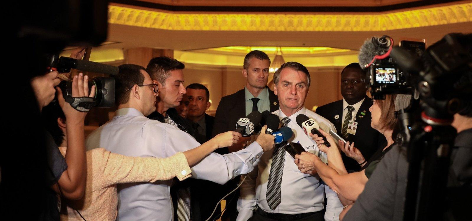 Após eleição de Fernández, Bolsonaro diz que não vai cumprimentar argentino