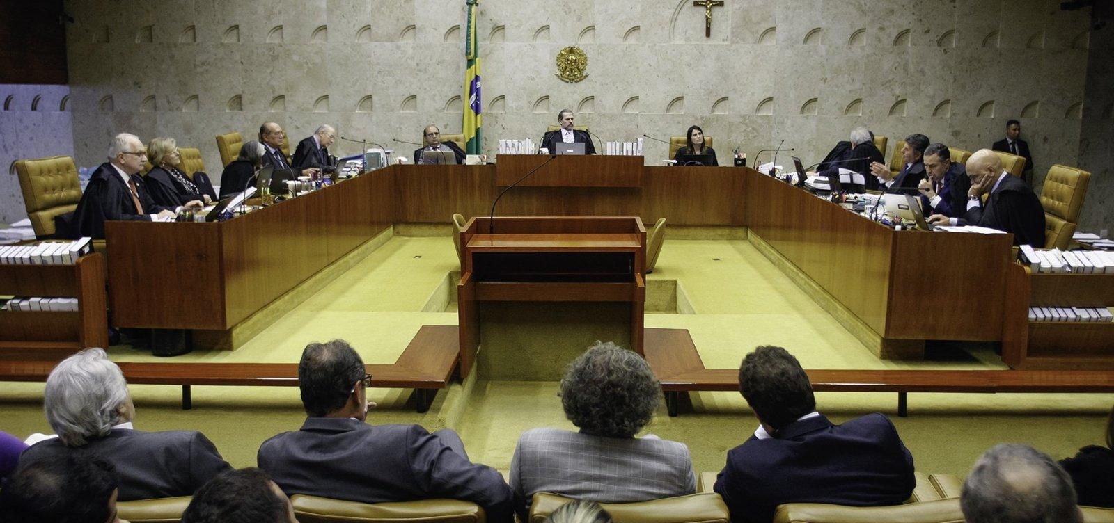 Julgamento sobre2ª instância deve ser retomado pelo STFna próxima semana