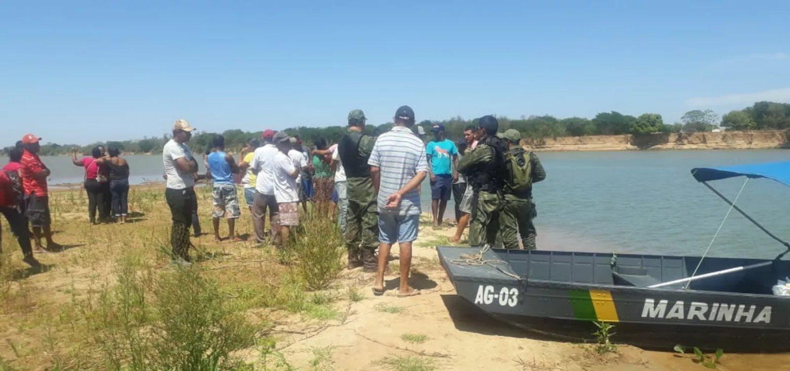 Quatro pessoas da mesma família desaparecem após entrarem no Rio São Francisco