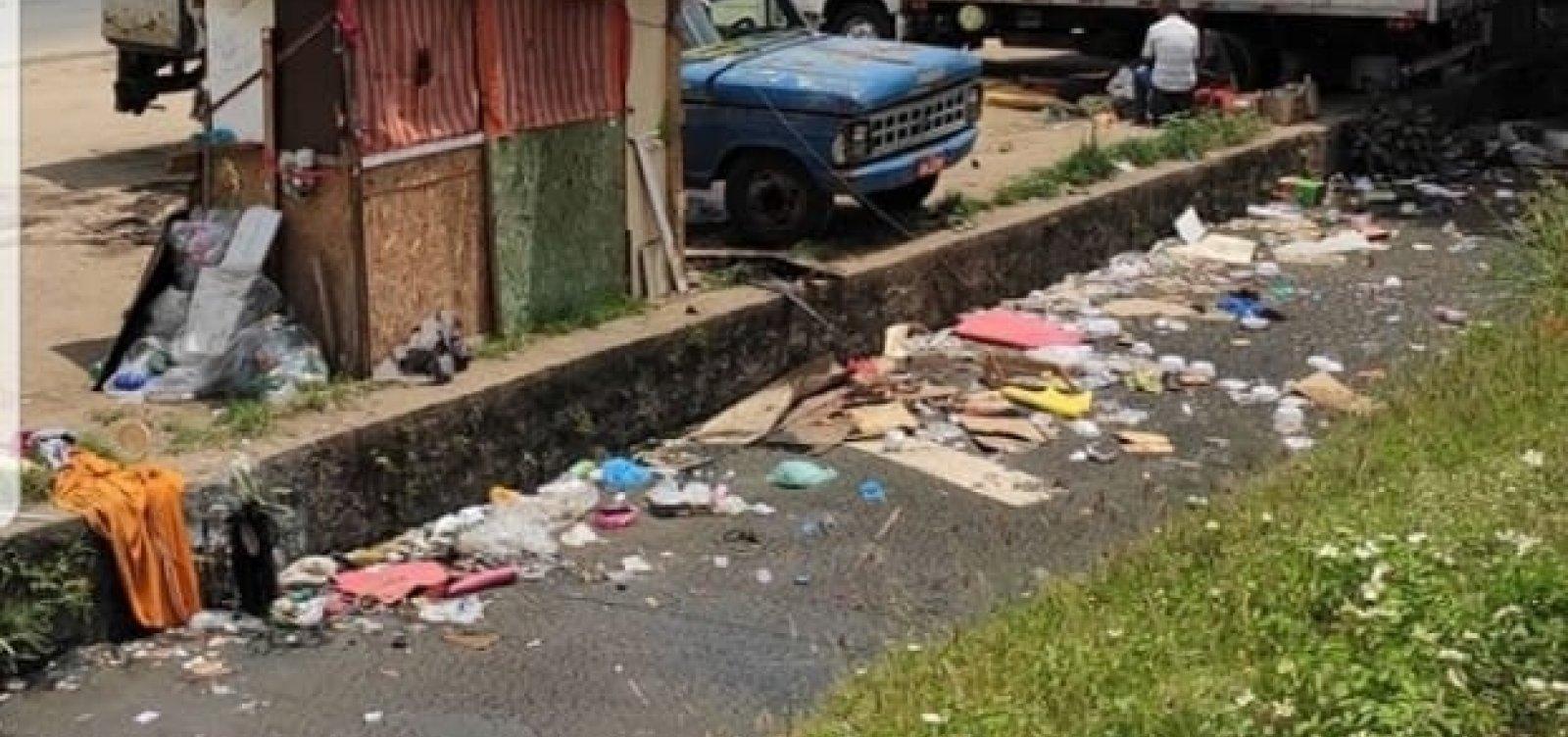 Prefeitura tampona trecho do Rio das Tripas para construir ciclovia