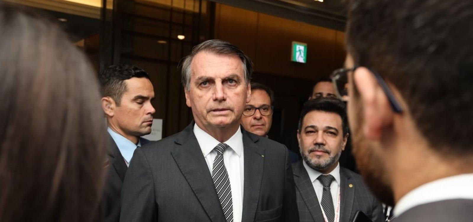 Bolsonaro afirma que pensa em criar nova legenda: 'Partido da Defesa Nacional'