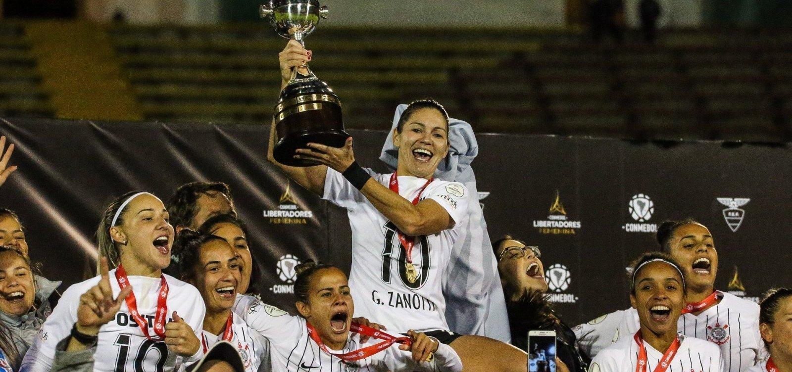 Corinthians vence Ferroviária e é campeão da Libertadores Feminina
