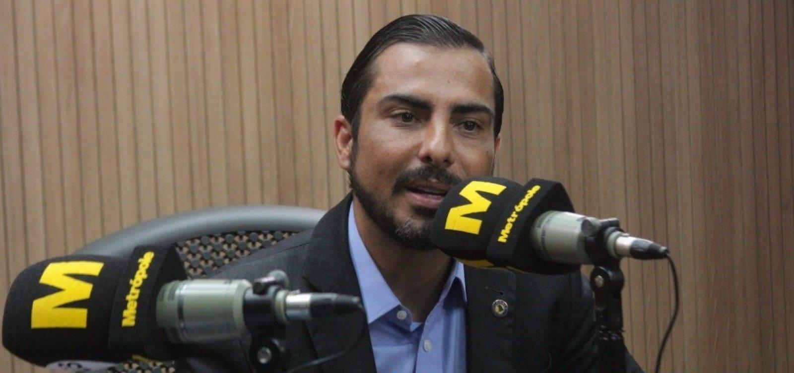 MP Eleitoral vai recorrer da absolvição de Marcell Moraes pelo TRE-BA