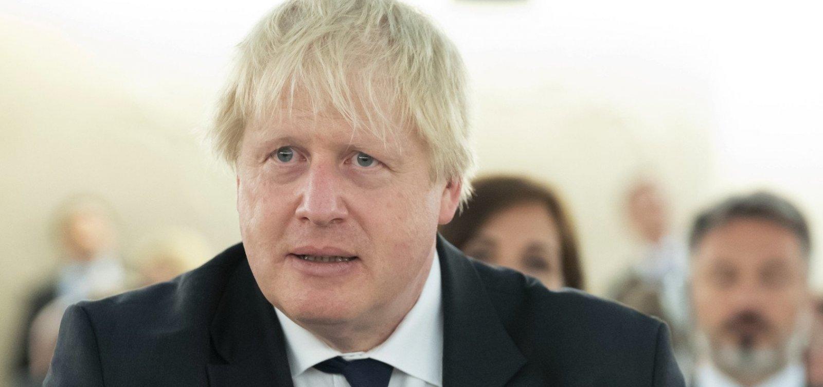 Boris Johnson vai propor, pelo segundo dia seguido, antecipar eleições gerais
