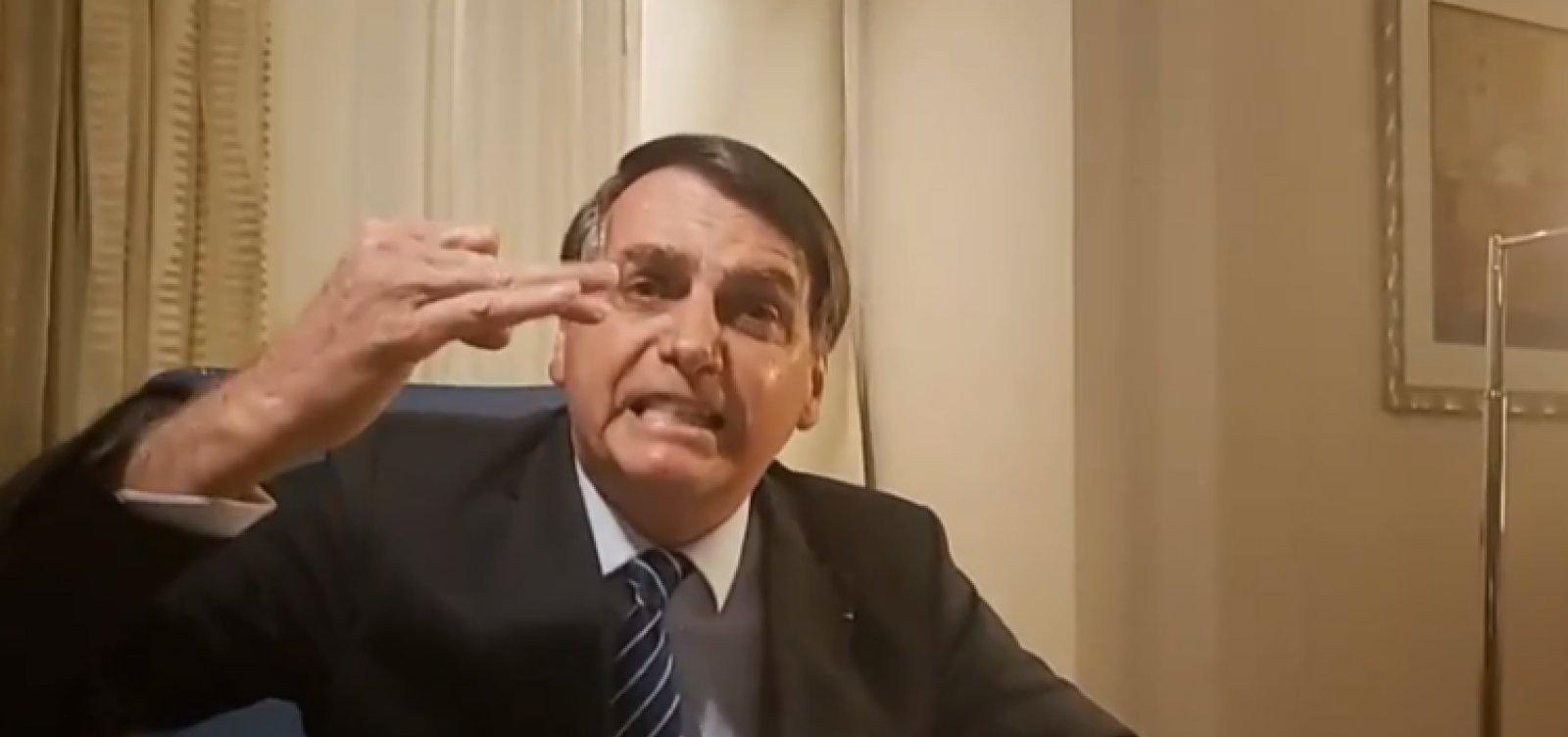 Após matéria do caso Marielle, Bolsonaro ataca Globo e Witzel