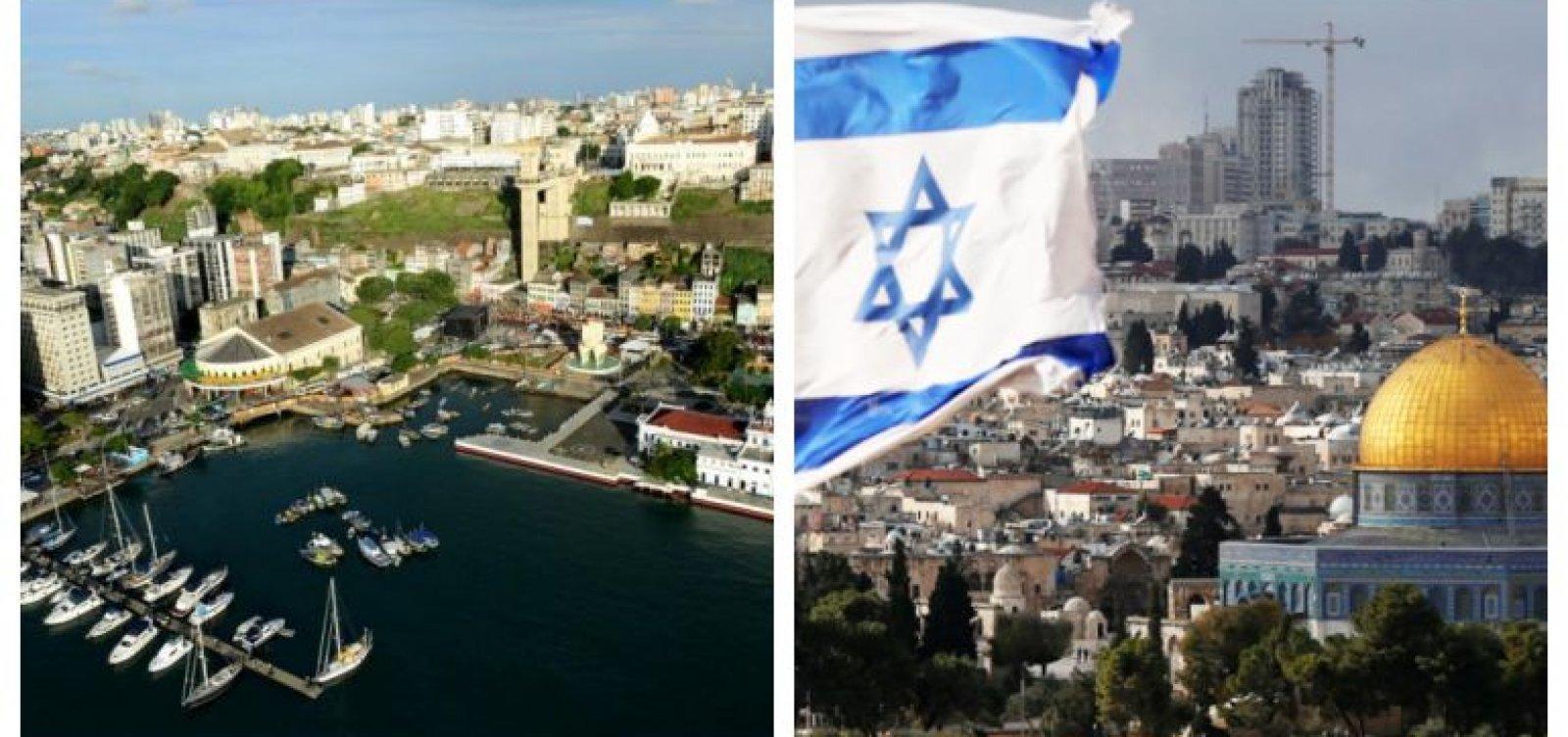 ACM Neto sanciona acordo de 'irmandade' entre Salvador e Jerusalém