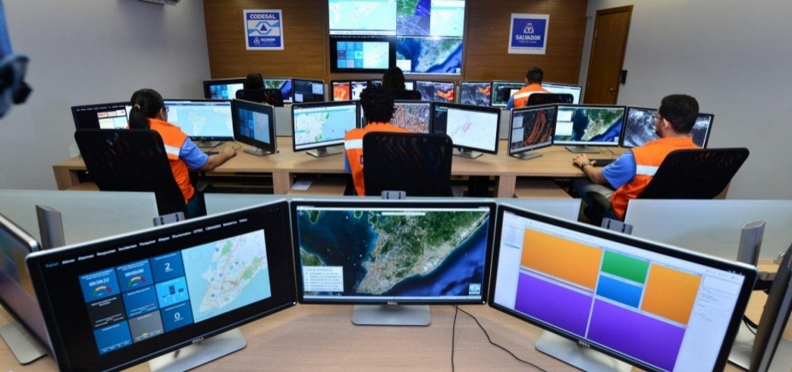 Codesal registra 25 chamados de emergência em Salvador hoje