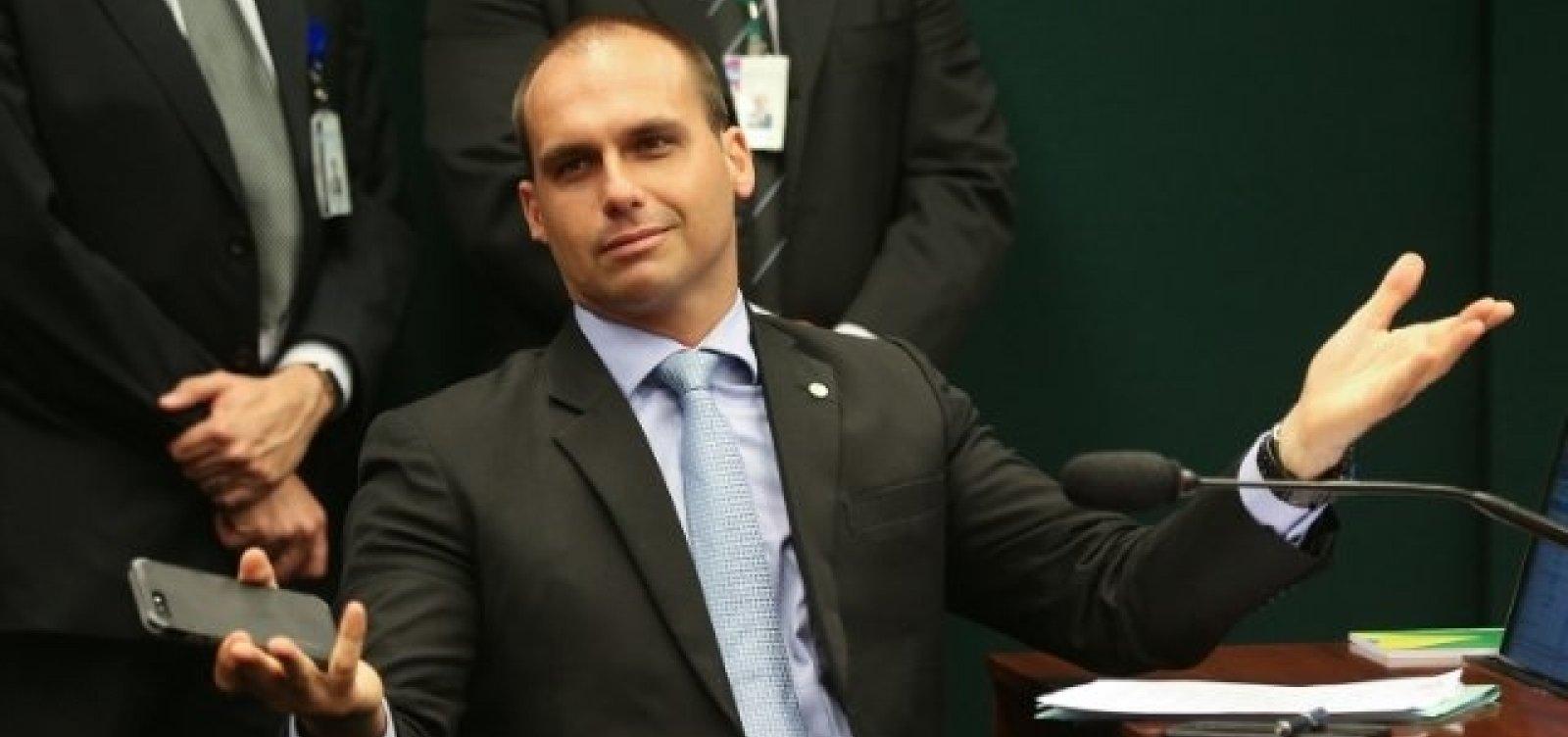 Partidos reagem a declaração de Eduardo Bolsonaro sobre 'novo AI-5'