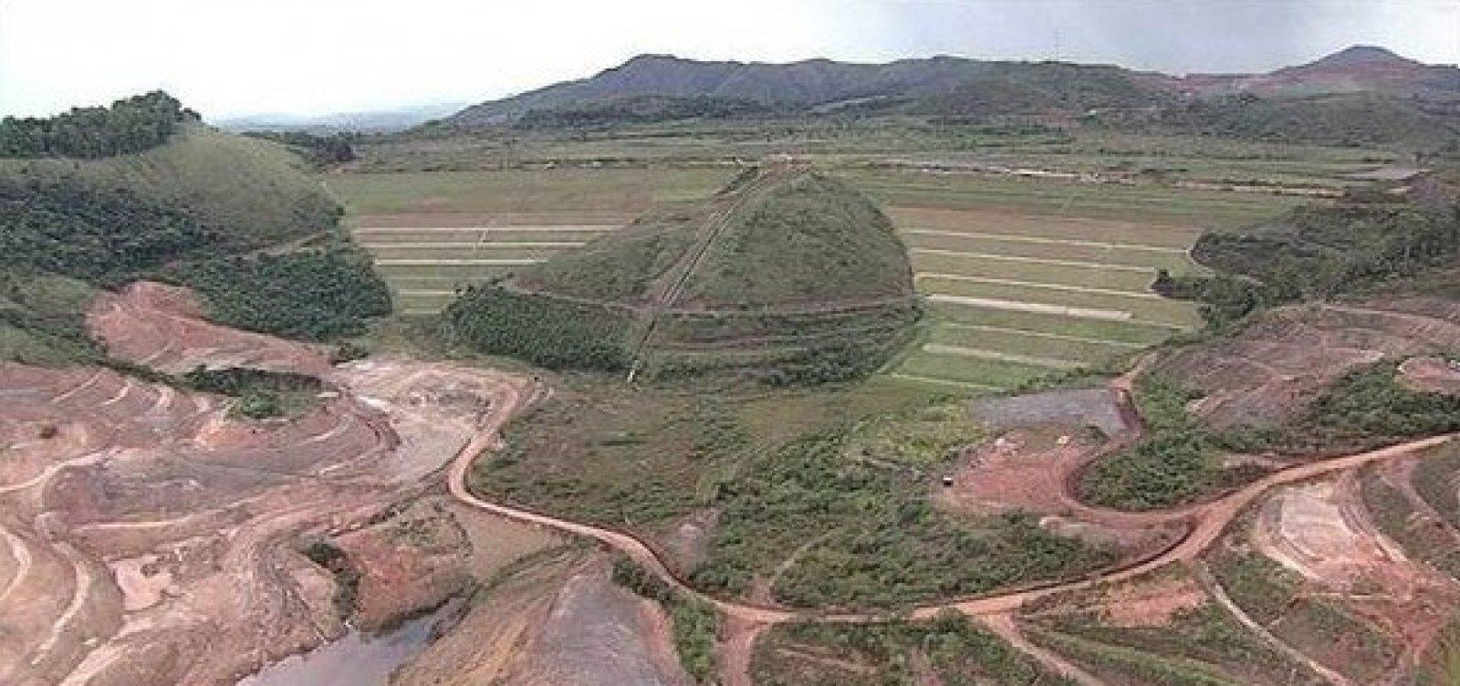 Vale aciona protocolo de emergência em barragem de Ouro Preto