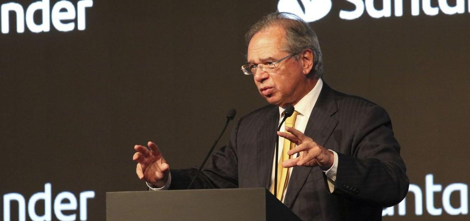 Crescimento de 2020 será o dobro do deste ano, diz Guedes