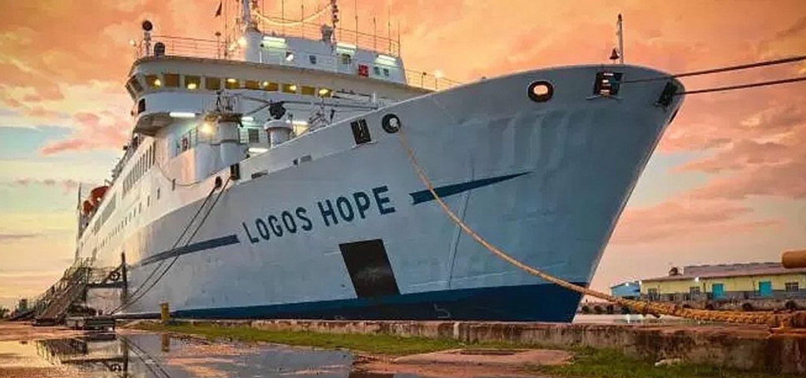 Grupo promete ebó coletivo em frente ao navio Logos Hope na segunda (4)