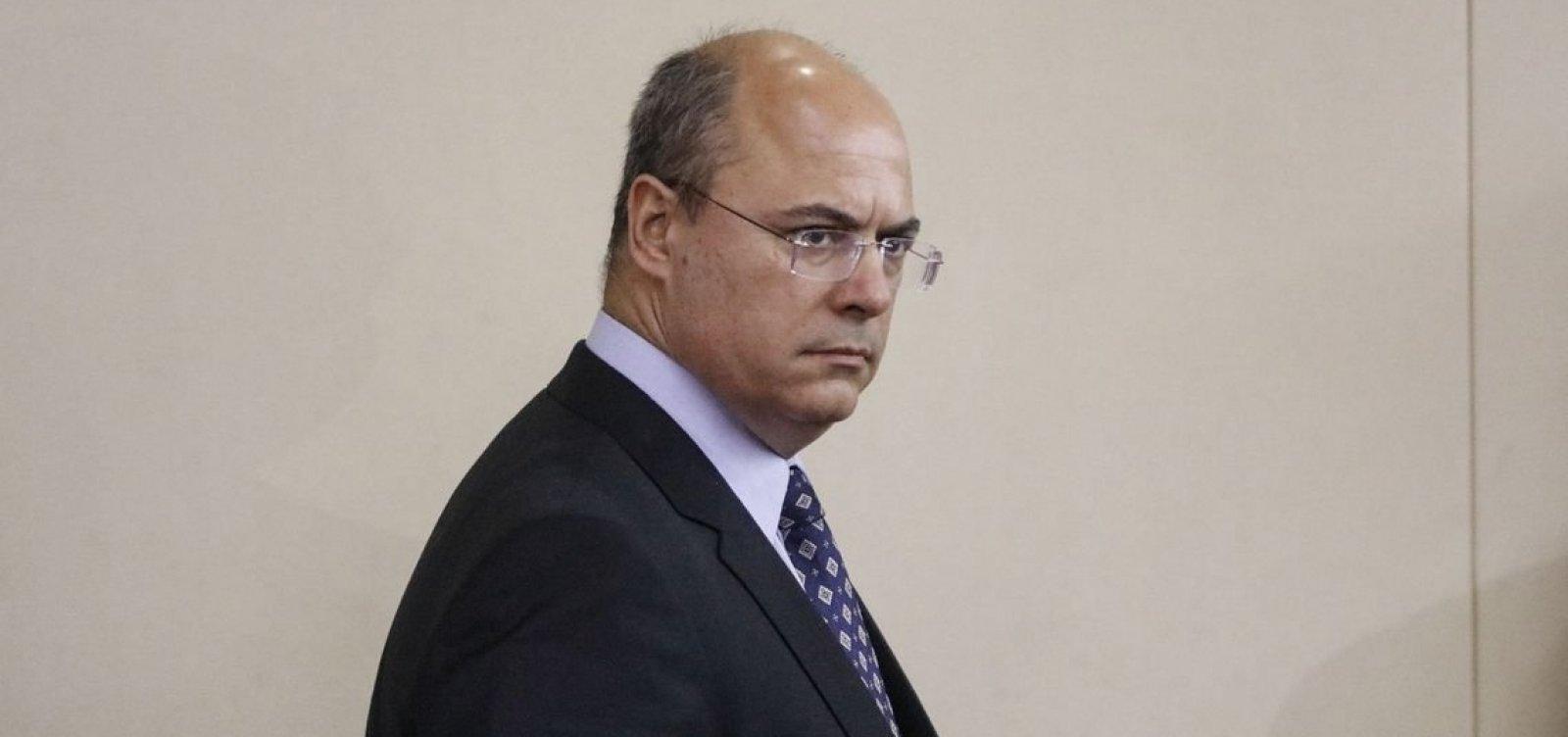 Witzel nega ter vazado informações e diz que não tem 'bandido de estimação'