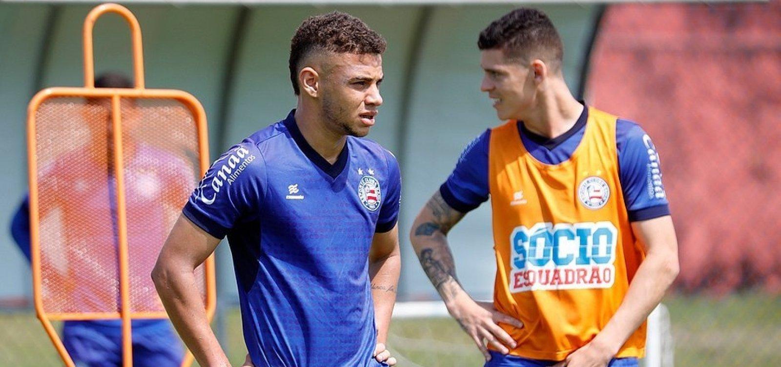 Volante Edson é relacionado e pode estrear pelo Bahia contra o Cruzeiro